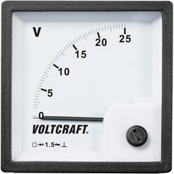 Analog panelmätare VOLTCRAFT AM-72x72/25V 25 V