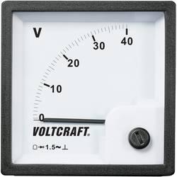 VOLTCRAFT AM-72x72/40V analogni ugradbeni mjerni uređaj AM-72x72/40V 40 V pomični svitak