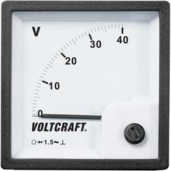 Analog panelmätare VOLTCRAFT AM-72x72/40V 40 V