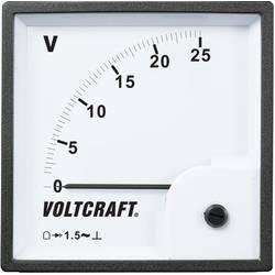 VOLTCRAFT AM-96x96/25V analogni ugradbeni mjerni uređaj AM-96x96/25V 25 V pomični svitak