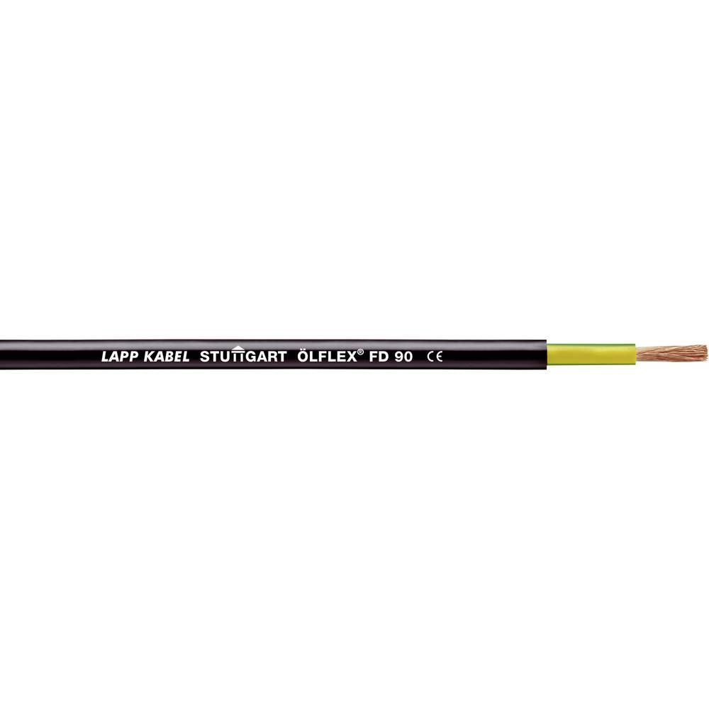 Energijski kabel ÖLFLEX® FD 90 1 G 10 mm črne barve LappKabel 0026600 100 m