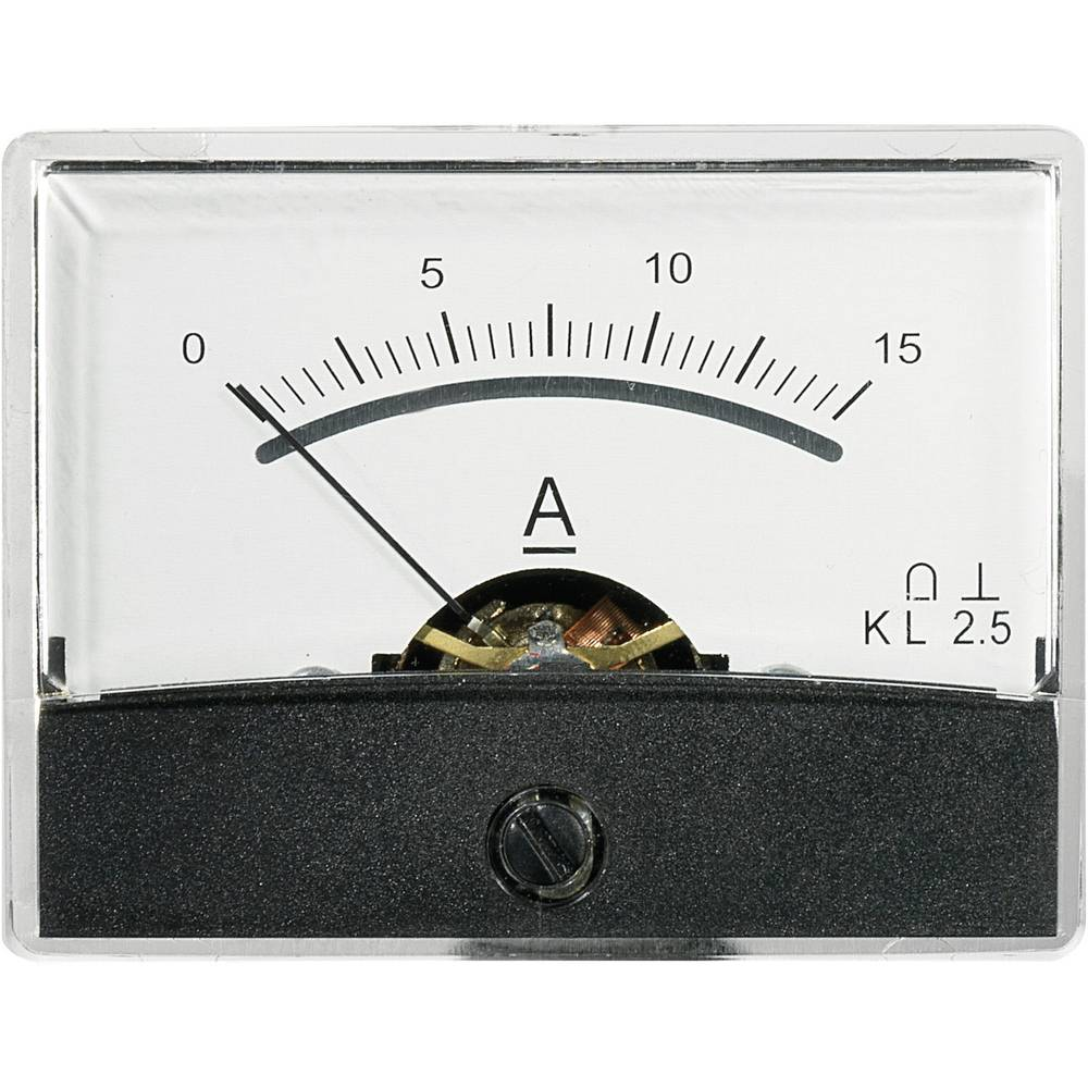 VOLTCRAFT AM-60X46/15A/DC vgradni merilnik AM-60X46/15A/DC 15 A vrtljiva tuljava