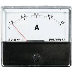 Analog panelmätare VOLTCRAFT AM-70X60/10A 10 A Vridjärn