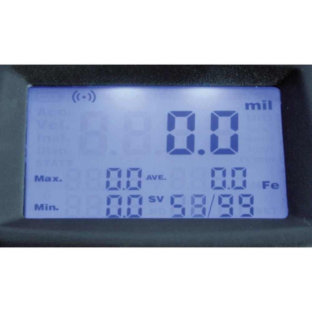 Mjerač debljine sloja Sauter TG 1250-0.1 FN, mjerenje debljine laka