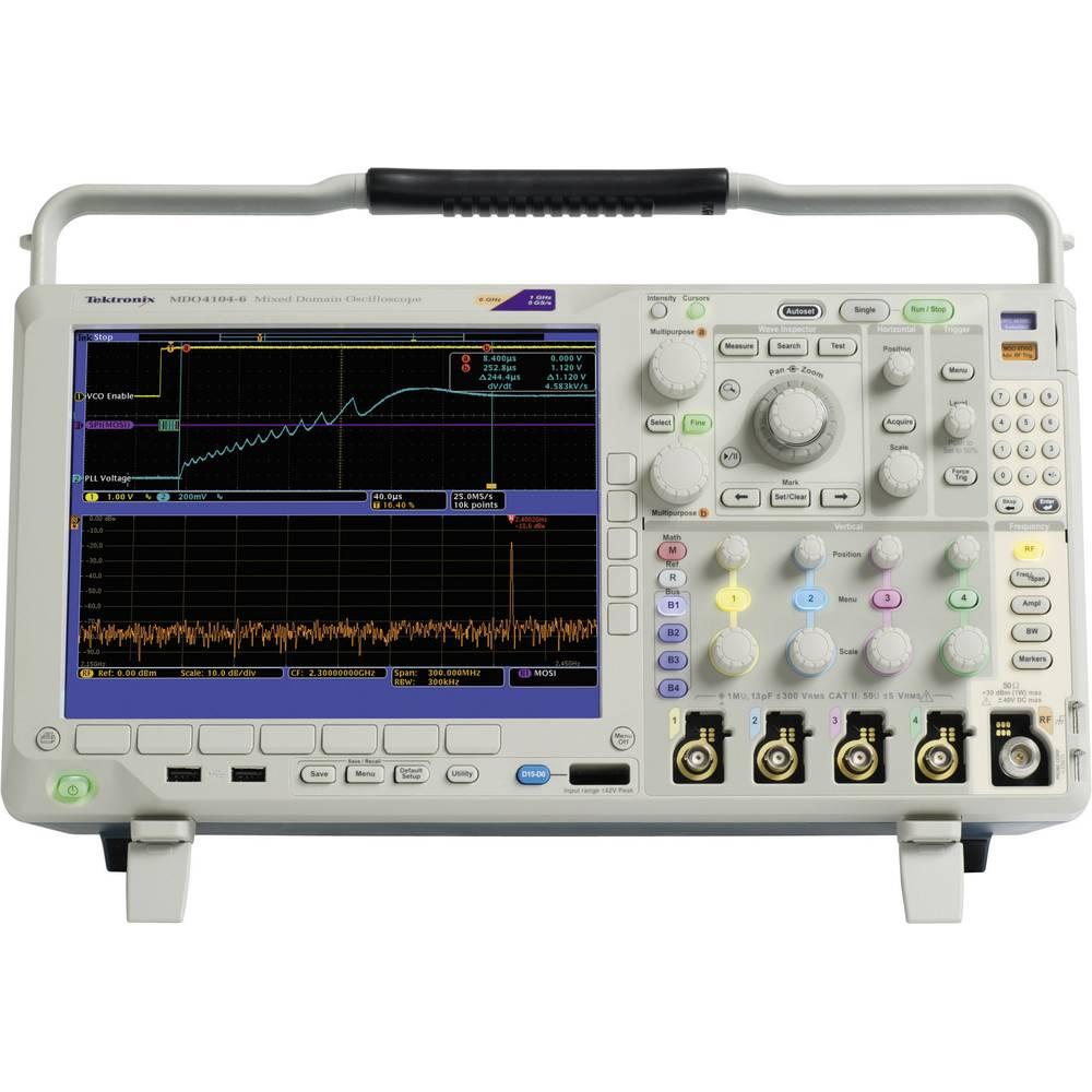 Kal. ISO Digitalni osciloskop Tektronix DPO4034B 350 MHz 4-kanalni 2.5 GSa/s 20 Mpts 11 Bit kalibracija narejena po: ISO, digita