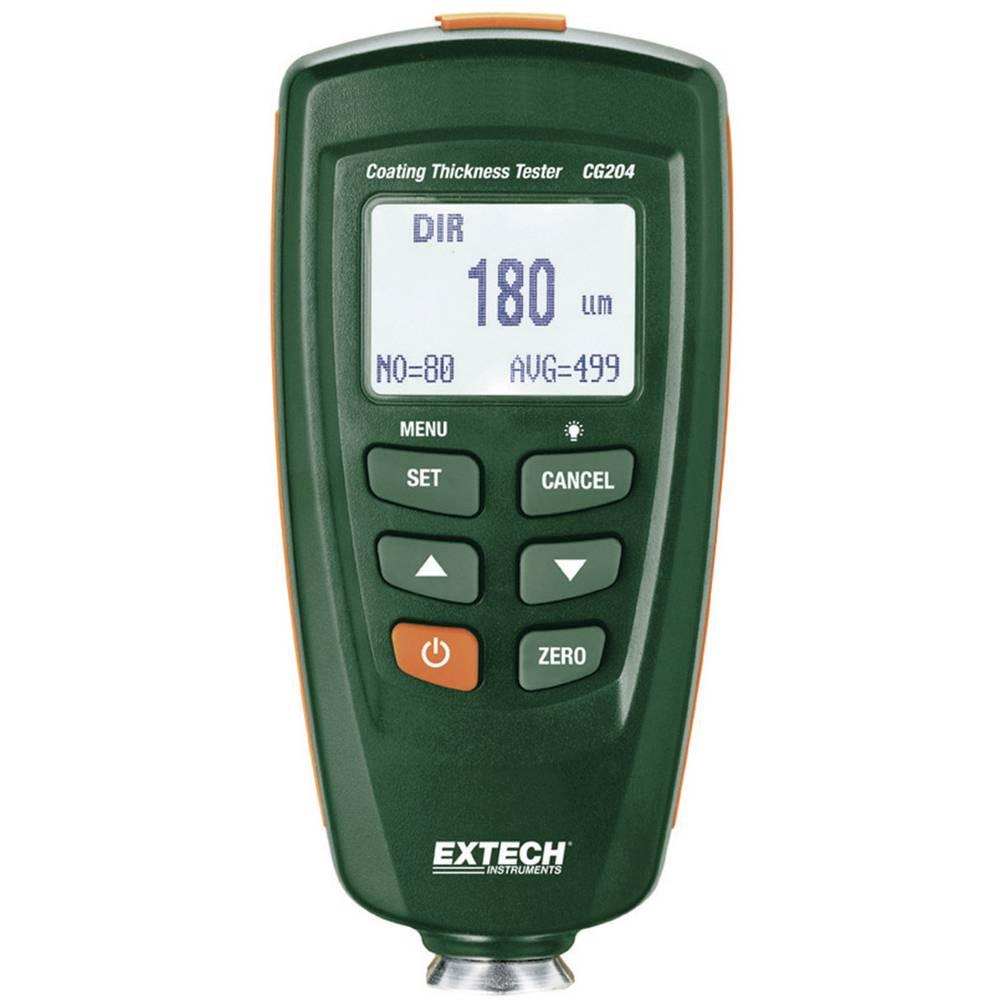 Extech CG204 uređaj za mjerenje debljine slojeva, mjerenje slojeva laka metala koji sadrže željezo i aluminija, 0 - 1250 µ