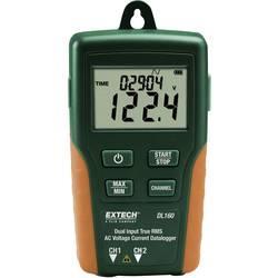 Shranjevalnik podatkov o TrueRMS Extech DL160 V/AC - A/AC-Dual, 2 kanala, 10-600 V/AC