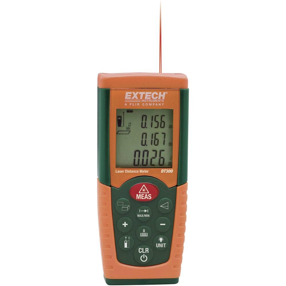 Extech DT300 laserski merilnik razdalje, merilno območje maks. 50 m kalibracija narejena po: delovnih standardih
