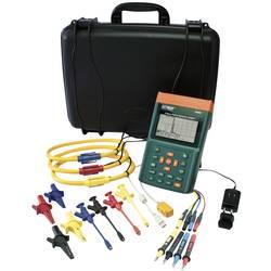 Extech PQ3350-3 omrežna analizna naprava za 1-3 fazna omrežja, CAT III 600 V vklj. s 3 fleksibilnimi električnimi škarjami do 30