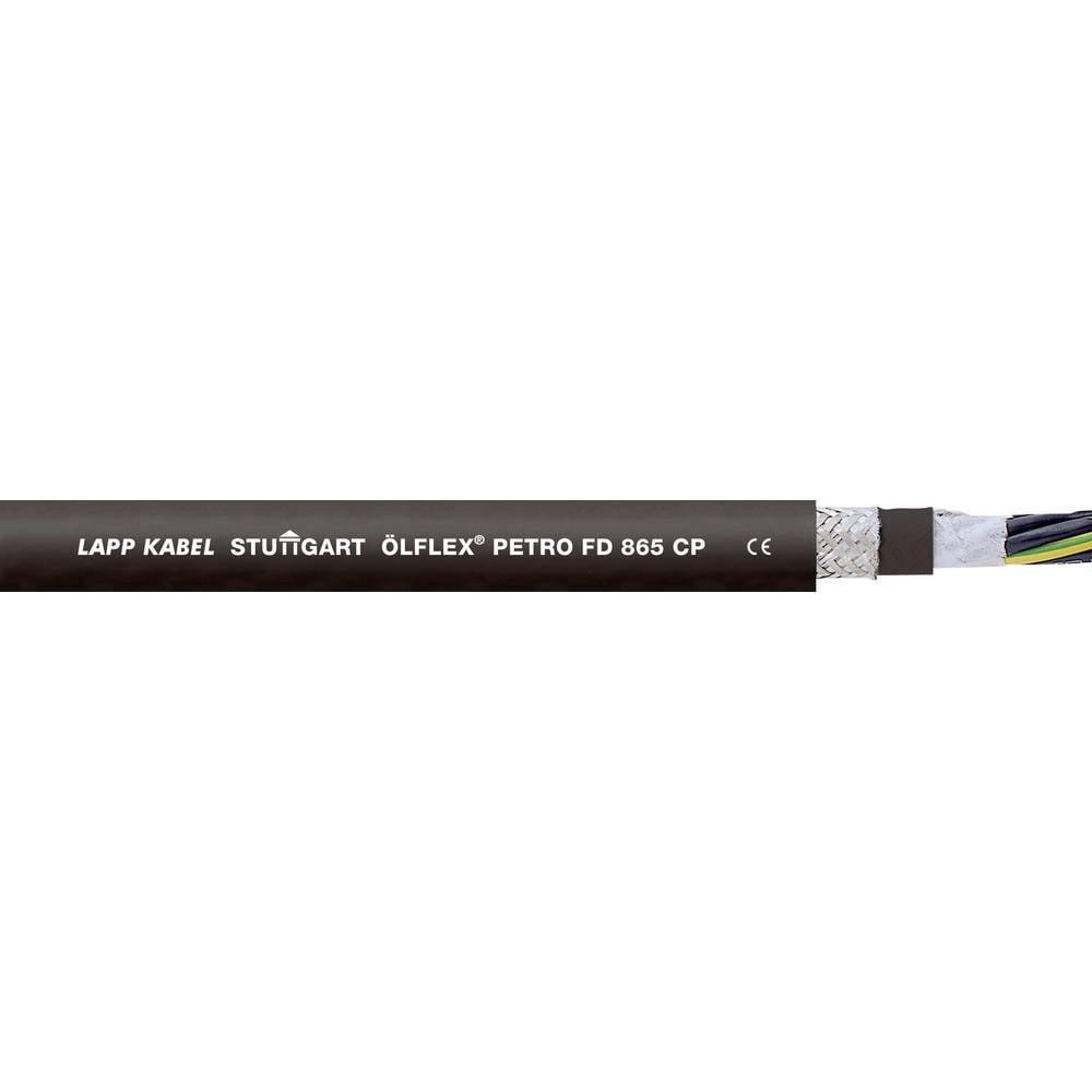 Energijski kabel ÖLFLEX® PETRO FD 865 CP 4 G 2.5 mm črne barve LappKabel 0023346 50 m