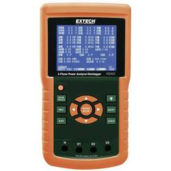 Extech PQ3450 omrežna analizna naprava za 1-3 fazna omrežja, CAT III 600 V