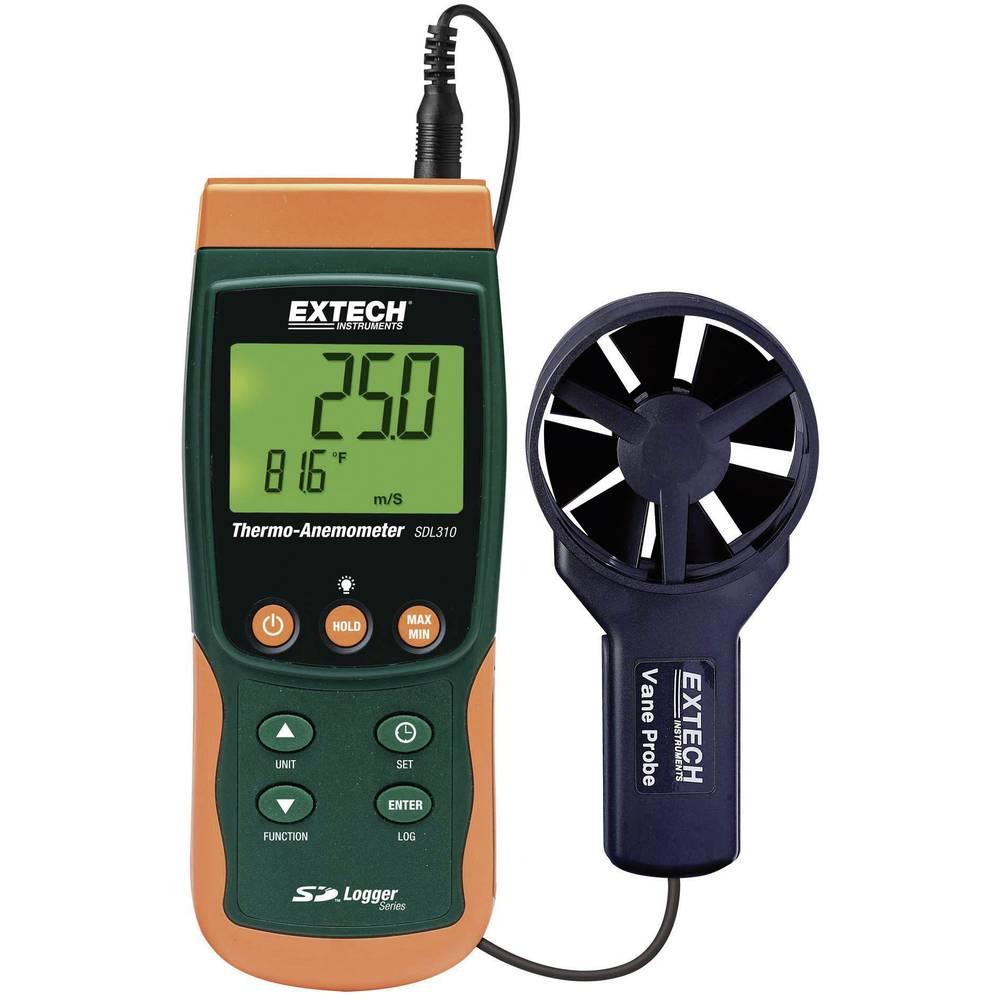 Kal. ISO-Vetromer s pogonskim kolesom Extech SDL310, merjenje temperature + shranjevalnik podatkov