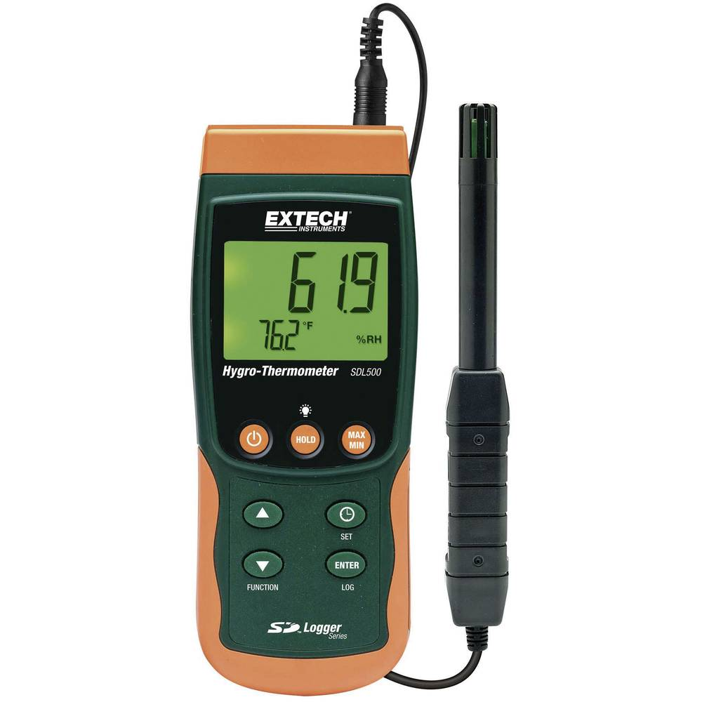 Kal. ISO-Merilnik vlažnosti zraka/temperature Ext
