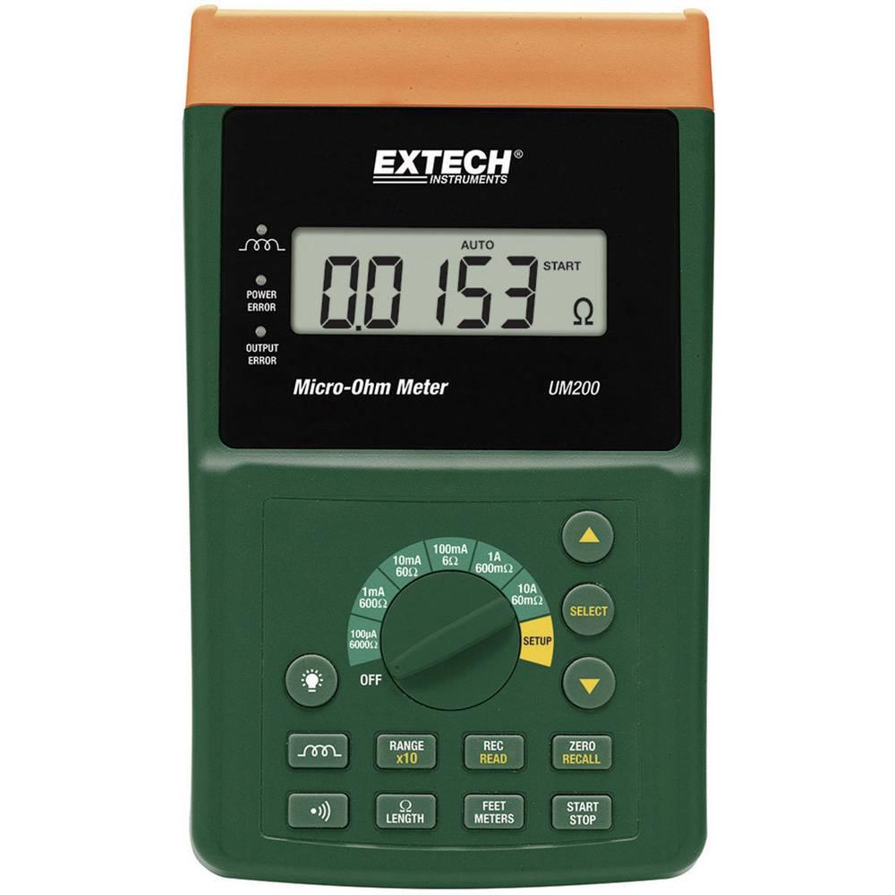 Tester komponent, digitalni Extech UM200 kalibracija narejena po: delovnih standardih, CAT I število znakov na zaslonu: 60000