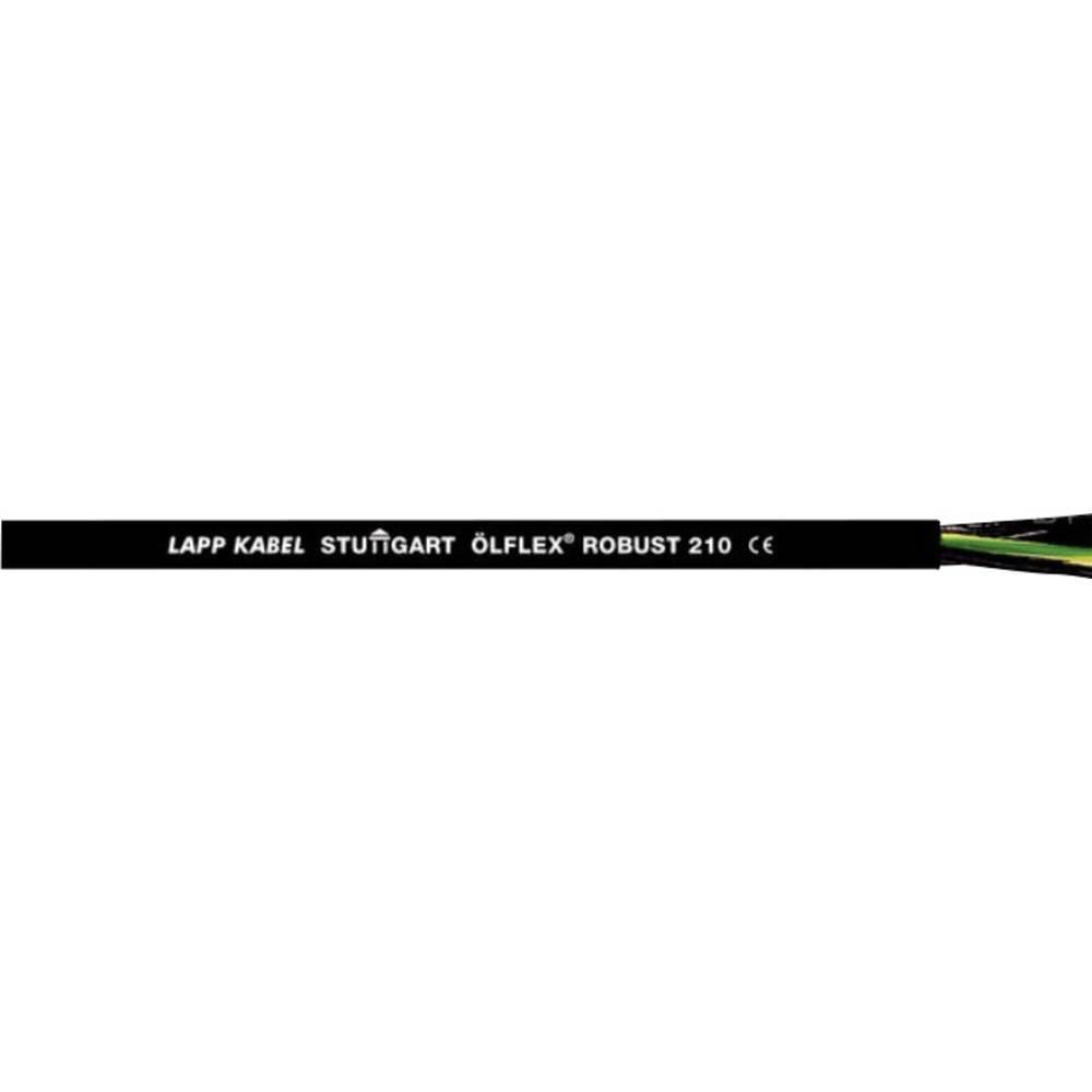 Krmilni kabel ÖLFLEX® ROBUST 210 5 G 4 mm črne barve LappKabel 0021965 100 m
