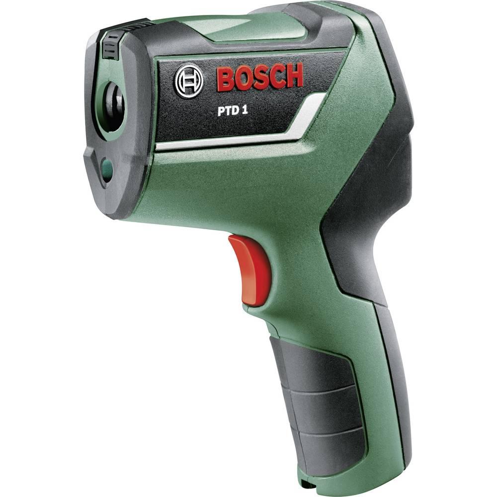 Infrardeči termometer Bosch PTD1 optika 10:1 -20 do +200 °C pirometer, skener kalibracija narejena po: delovnih standardih