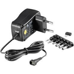 Vtični napajalnik, nastavljiv Goobay 67950 3 V/DC, 4.5 V/DC, 5 V/DC, 6 V/DC, 7.5 V/DC, 9 V/DC, 12 V/DC 600 mA