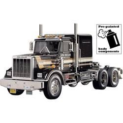 Tamiya 56336 King Hauler Black Edition 1:14 elektro modeli RC tovornjakov komplet za sestavljanje predlakiran