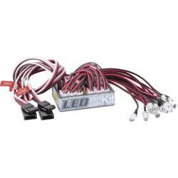 Carson Modellsport svetlobna enota bela, rdeča 4 - 6 V/DC