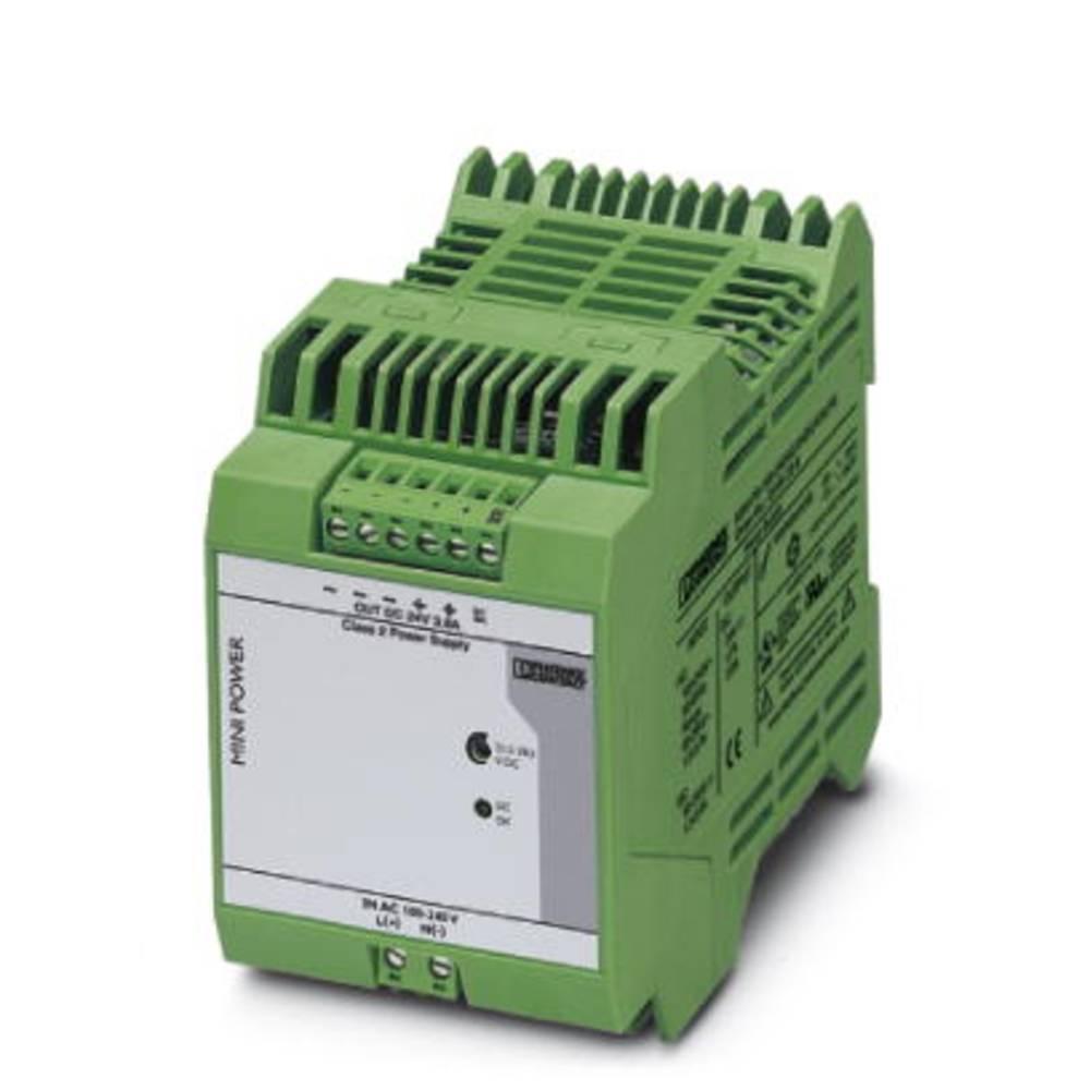 Adapter napajanja za profilne šine (DIN-letva) Phoenix Contact MINI-PS-100-240AC/24DC/C2LPS 24 V/DC 3.8 A 240 W 1 x