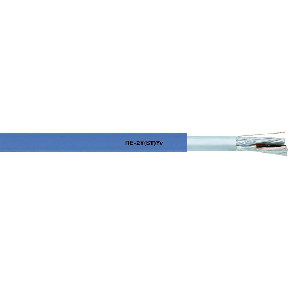 Podatkovni kabel RE-2Y(ST)Yv PiMF 2 x 2 x 1.3 mm modre barve LappKabel 0032458 100 m