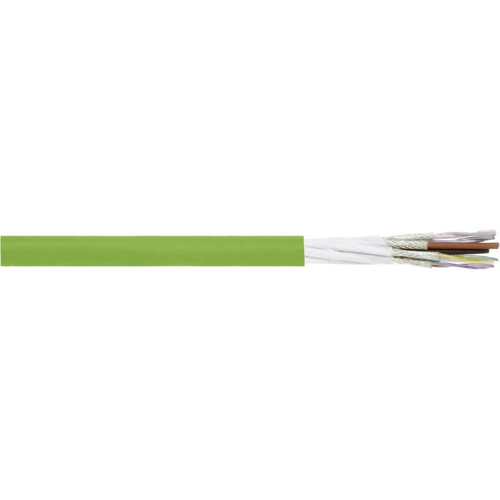 Energijski kabel LENZE Standard 8 x 0.14 mm + 2 x 1 mm zelene barve LappKabel 7072508 50 m