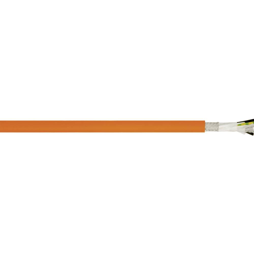 Kabel za krmiljenje motorjev Siemens Standard 6FX 5008 4 G 4 mm + 2 x 1.5 mm oranžne barve LappKabel 00257171 50 m