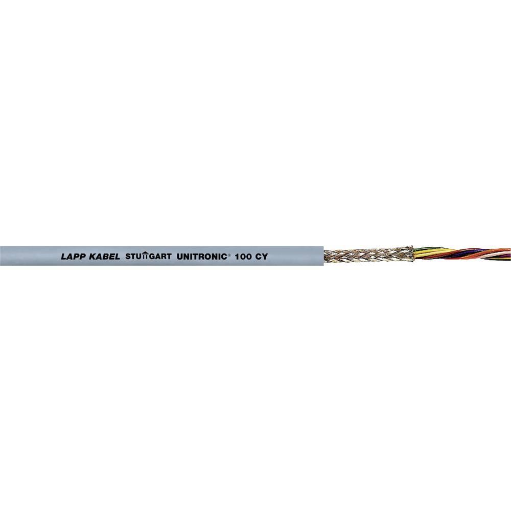 Podatkovni kabel UNITRONIC® 100 CY 10 x 0.14 mm sive barve LappKabel 0034011 100 m