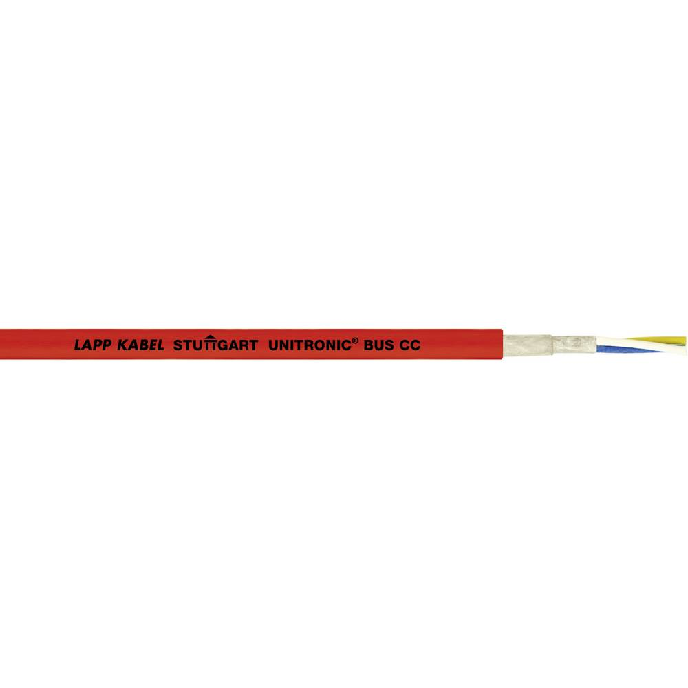 Busledning LappKabel UNITRONIC® BUS 2170360 1.5 x 2 x 0.75 mm² Rød 100 m