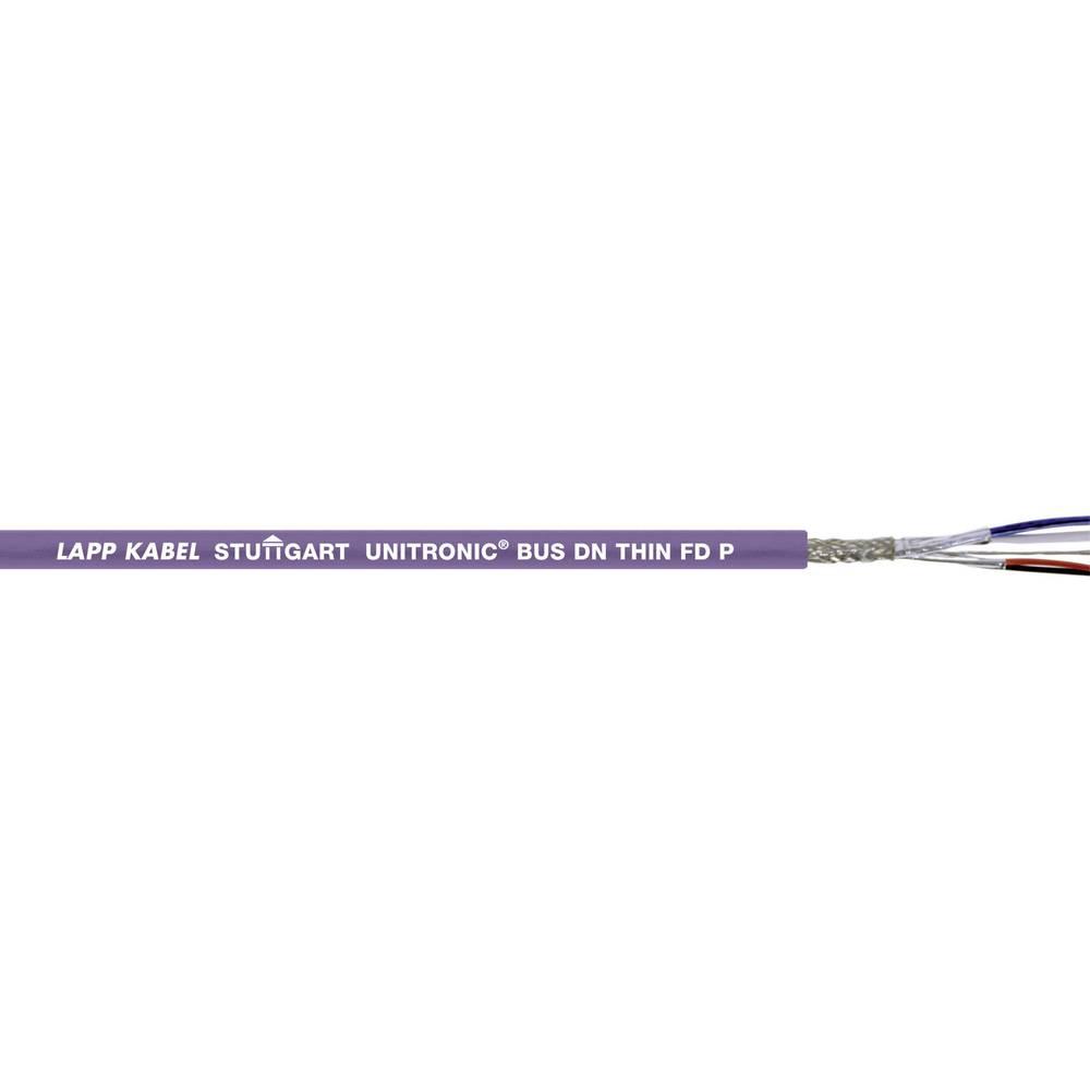 Busledning LappKabel UNITRONIC® BUS 2170345 1 x 2 x 0.25 mm² + 2 x 0.50 mm² Violet 100 m