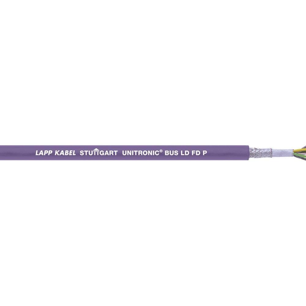 Busledning LappKabel UNITRONIC® BUS 2170813 1 x 2 x 0.25 mm² Violet 100 m