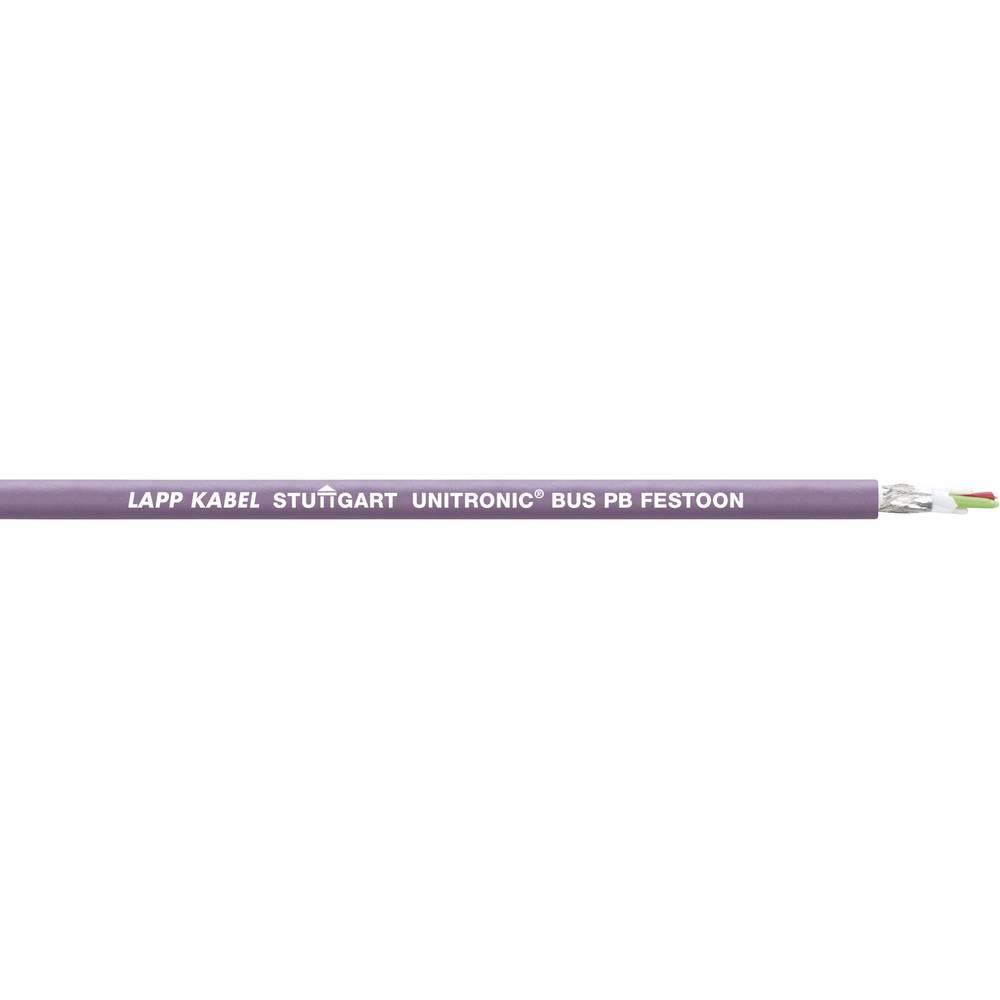 Busledning LappKabel UNITRONIC® BUS 2170331 1 x 2 x 0.32 mm² Violet 100 m