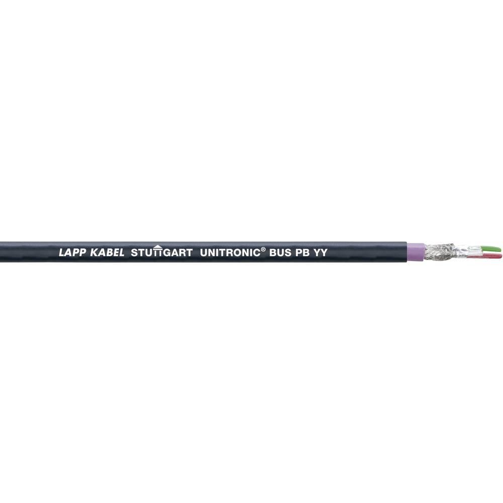 Busledning LappKabel UNITRONIC® BUS 2170236 1 x 2 x 0.32 mm² Violet-sort 100 m
