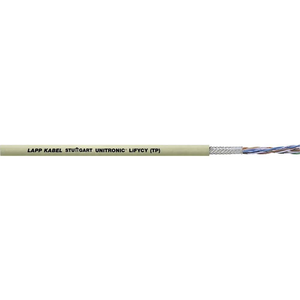 Podatkovni kabel UNITRONIC® LiFYCY (TP) 4 x 2 x 0.08 mm sive barve LappKabel 0034231 500 m