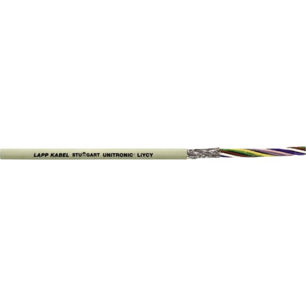 Podatkovni kabel UNITRONIC LIYCY 50 x 0.14 mm sive barve LappKabel 0034350 100 m