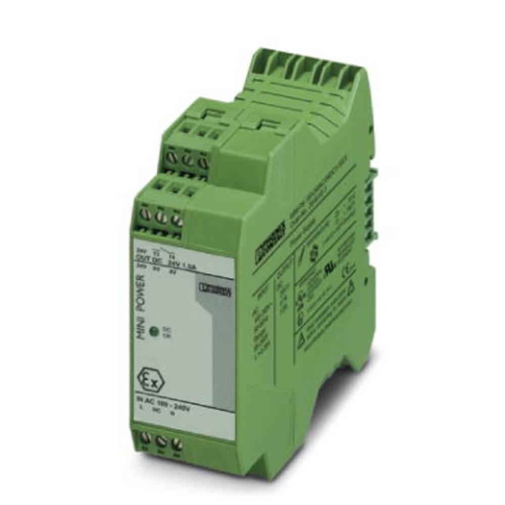 Napajalnik za namestitev na vodila (DIN letev) Phoenix Contact MINI-PS-100-240AC/24DC/1.5/EX 24 V/DC 1.5 A 36 W 1 x