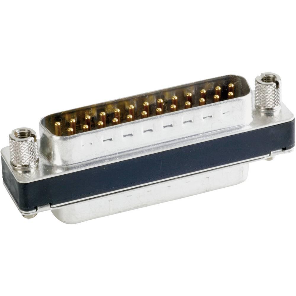 D-SUB filter 180 ° število polov: 25 za spajkanje Conec 242A15050X 1 kos