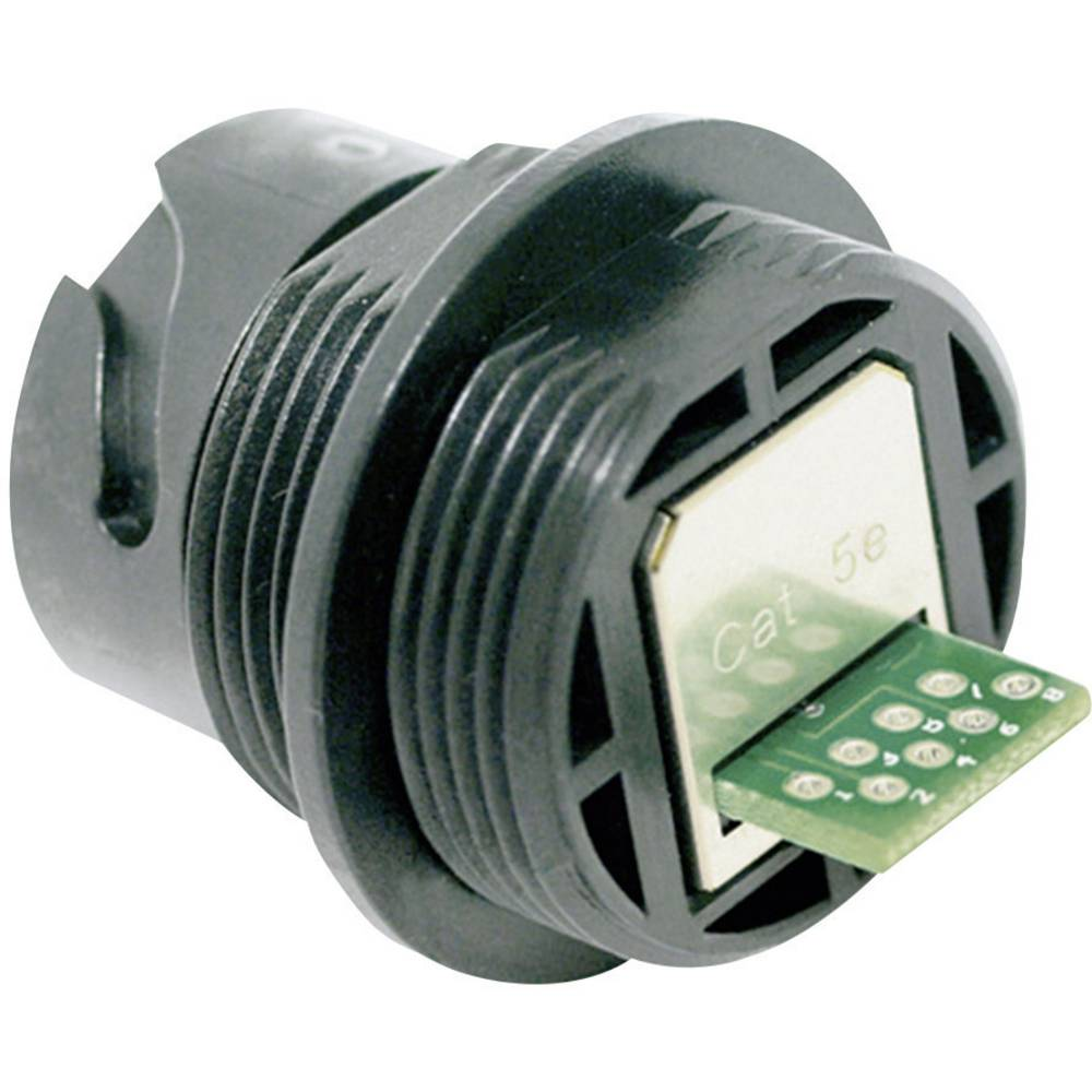 Sensor-/Aktor-datastikforbinder Tilslutning, indbygning Pol-tal (RJ): 8P8C Conec 17-300050 1 stk