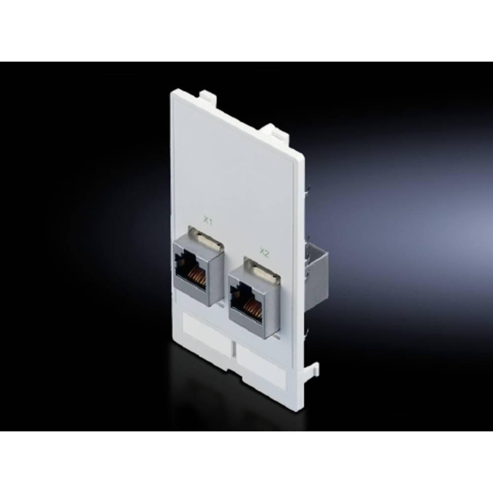 Interfaceklap Rittal SZ 2482.560 2482.560 RJ45 Trykstøbt Grafitgrå (RAL 7024) 1 stk