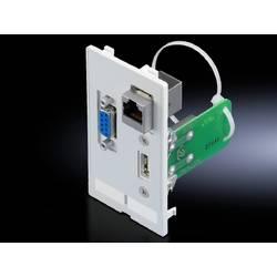 Interfaceklap Rittal SZ 2482.570 2482.570 USB-A, RJ45, SUB-D 9 Trykstøbt Grafitgrå (RAL 7024) 1 stk