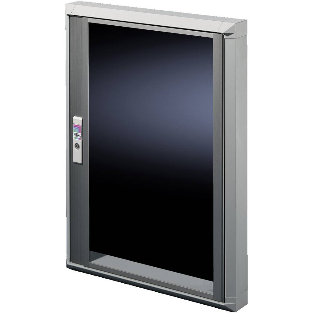 Vindue Rittal FT 2735.500 (B x H) 500 mm x 270 mm Glas Lysegrå (RAL 7035), Transparent 1 stk