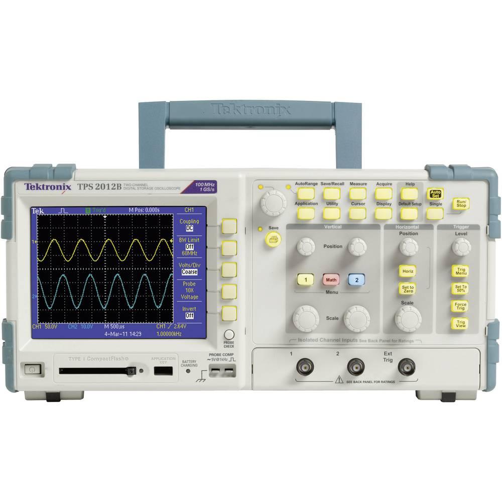 Digitalni osciloskop Tektronix TPS2012B 100 MHz 2-kanalni 1 GSa/s 2.5 kpts 8 Bit digitalni pomnilnik (DSO), spektralni analizato