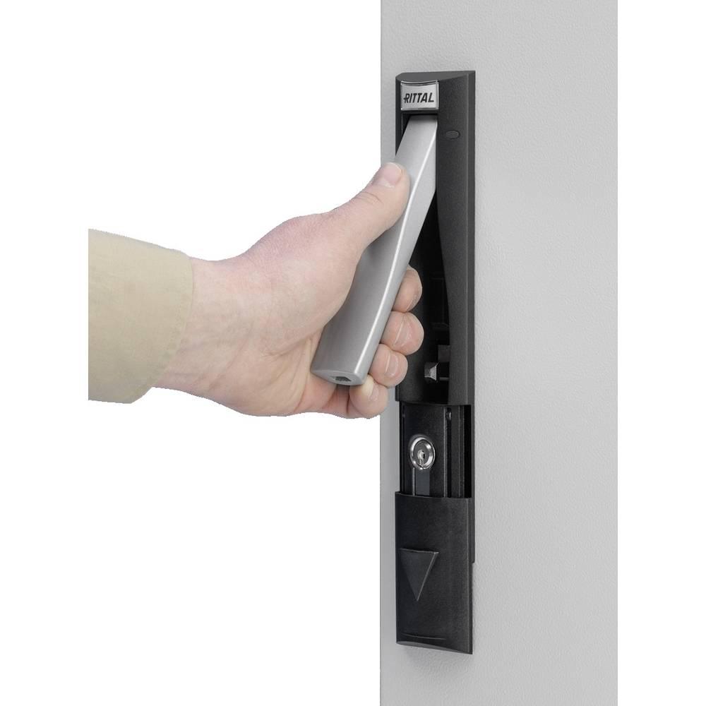 Håndtag Rittal CM 5001.062 til hængelåse og lås-indsatser Sort 1 stk