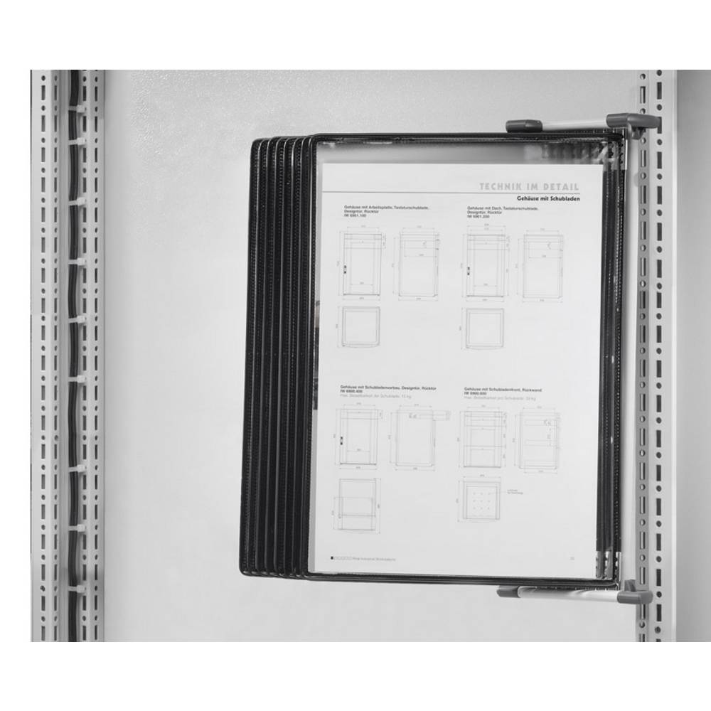 Dokumentholder Rittal CP 6013.100 6013.100 Plast 1 stk