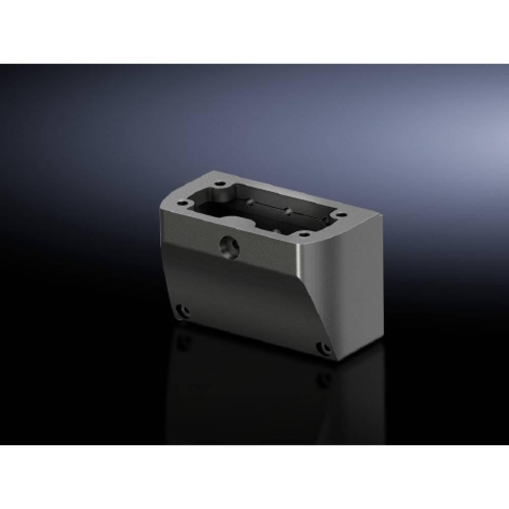 Afdækningsplade Rittal CP 6505.100 Stålplade Krom 1 stk