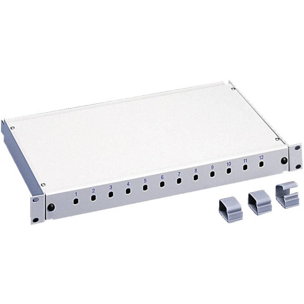 LWL-splejseboks Rittal DK 7241.005 dybdeindstillelig, med 2 splejsningskassetter 1 stk