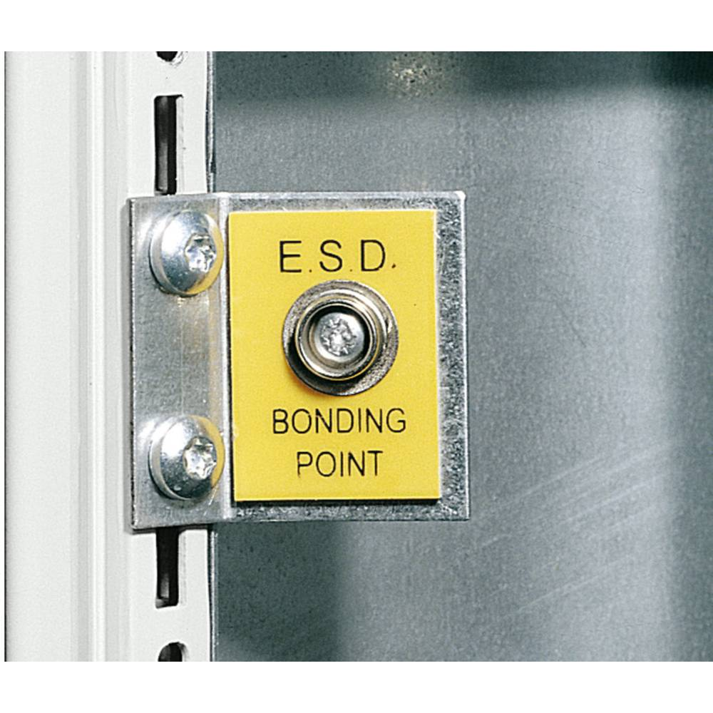 ESD-tilslutningspunkt Rittal DK 7752.950 7752.950 Stålplade 1 stk