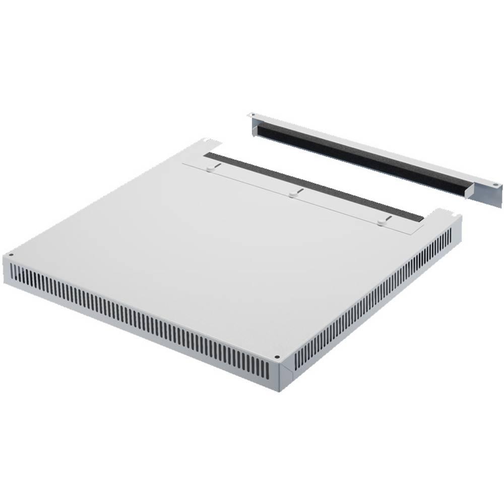 Tagplade Rittal DK 7826.809 Med kabelindføring (L x B) 1000 mm x 800 mm Stålplade Lysegrå (RAL 7035) 1 stk