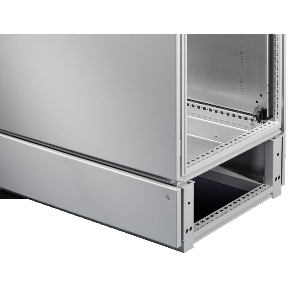 Kabel-kammer Rittal TS 8600.665 (L x B x H) 600 x 600 x 200 mm Stålplade Lysegrå (RAL 7035) 1 stk