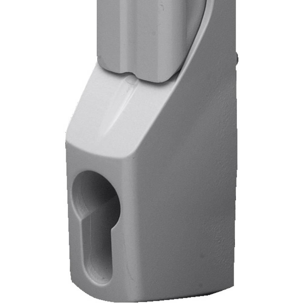 Komfortgreb Rittal TS 8611.070 til profilhalvcylinder Grå (RAL 7035) 1 stk